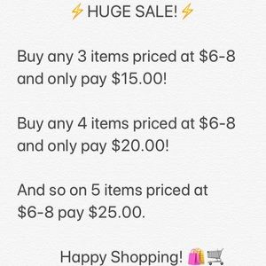 Other - ⚡️HUGE SALE⚡️